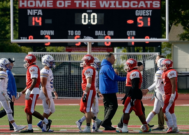 Newtown too much for NFA in 51-14 rout