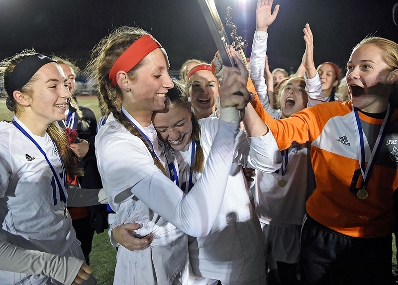 Mya Johnson's two goals lift Lyme/Old Lyme to soccer title
