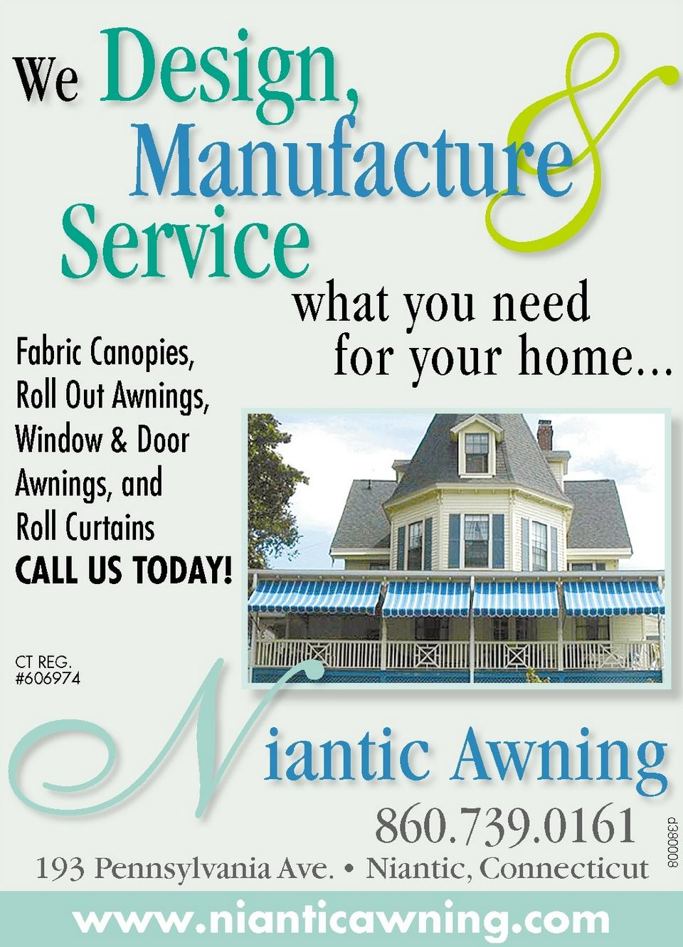NIANTIC AWNING,   Ad Number: d00380008,  Publication Date: 10/17/2012