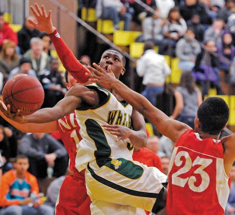 Kris Dunn led the New London boys' basketball team to their fifth straight ECC tournament title and to the CIAC Class LL semifinals. Dunn, currently playing at Providence College, was named a McDonald's All-American.