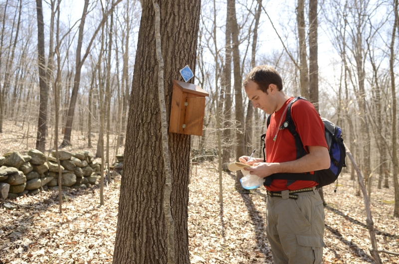 Be sure to sign the Pequot Trail register (located south of Rose Hill Rd. in Ledyard) and leave any feedback for the CFPA trail stewards.