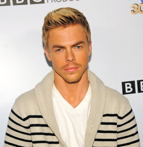 "Professional dancer Derek Hough at the ""Dancing With The Stars"" 300th episode celebration in Los Angeles. Hough has won the mirror-ball trophy four times since he joined the show in 2007."