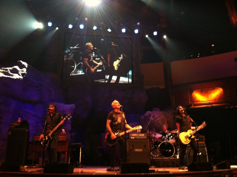Everclear, with front man Art Alexakis, performs Friday night, Aug. 9, 2013, at the Wolf Den at Mohegan Sun.