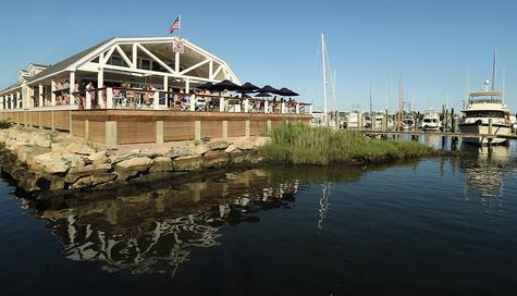 Red36 proprietors were aiming for clam shack comfort with their new restaurant alongside the Mystic River.