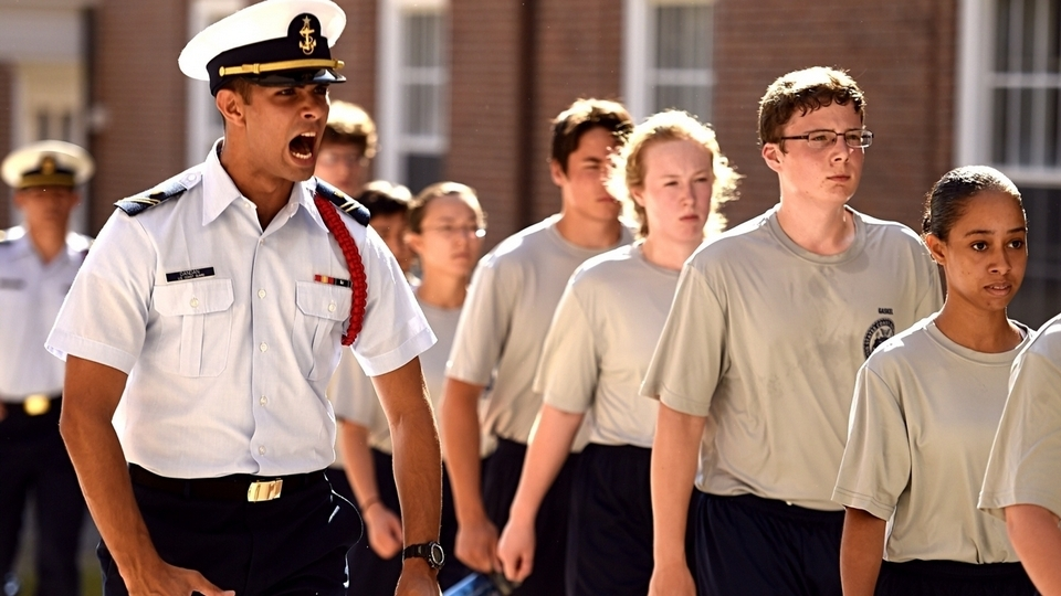 The Day Reporting For Duty At The Coast Guard Academy News From