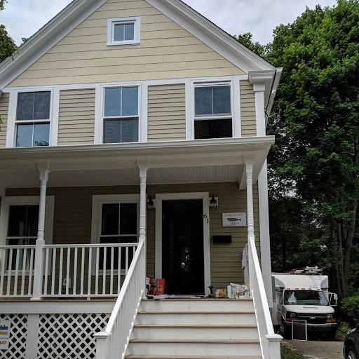 The next HOPE house ready to hit the market will be at 61 Denison Ave. in New London, up for sale for $80,000. Lee Howard/The Day