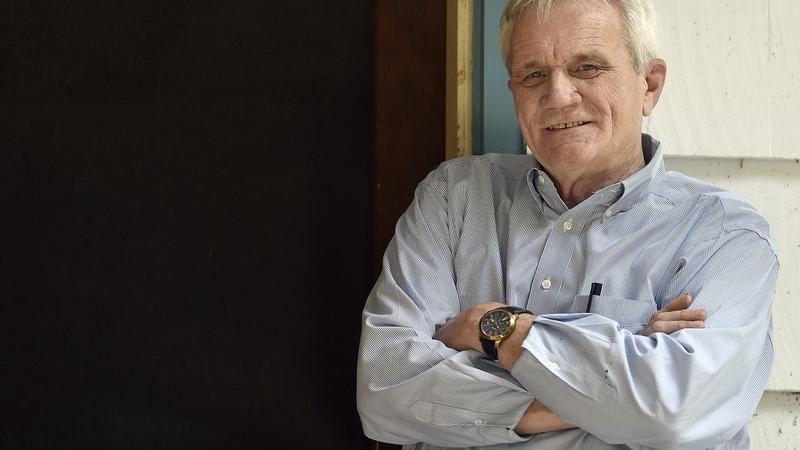 Jack Malone, executive director of Lebanon Pines in Lebanon, Conn., a 110-bed, long-term facility for men with alcohol and drug addiction, and executive director of the Southeastern Council on Alcohol and Drug Dependence, poses for a photo at the Lebanon Pines facility Wednesday, June 20, 2018. (Tim Martin/The Day)