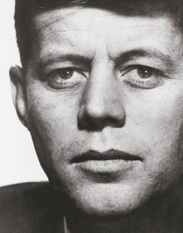 This portrait of Kennedy dates from 1957, when he was a U.S. senator from Massachusetts. (Courtesy Magnum Photos)