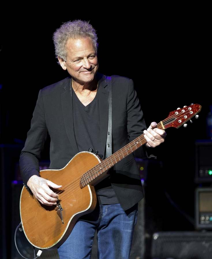 Lindsey Buckingham, who performed in November at the Garde Arts Center (Winslow Townson/Invision/AP)