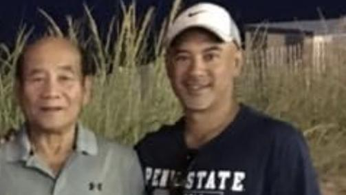 Rodolfo Bagos, father of East Lyme football and boys' golf coach Rudy Bagos, grew up in the Philippines and later spent 20 years in the United States Navy. (Photo courtesy of Bagos family)
