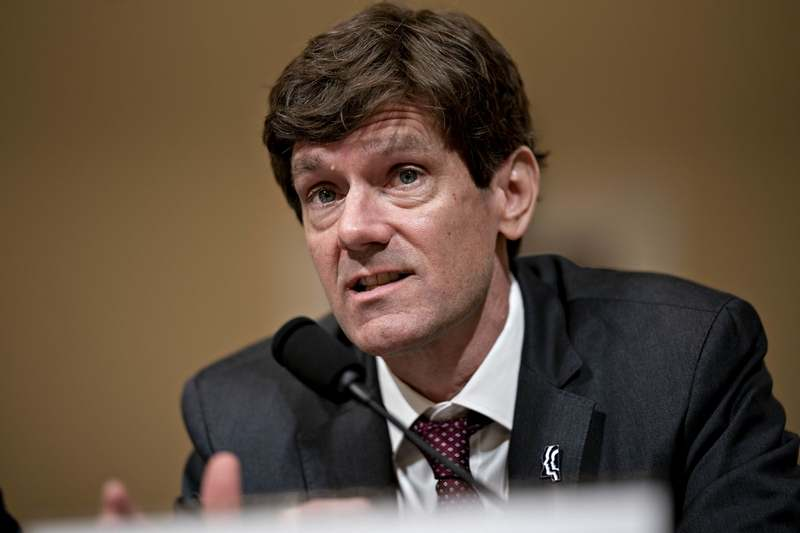 Thomas Dobbs, state health officer with the Mississippi State Department of Health, speaks during a House Homeland Security Subcommittee hearing in Washington, D.C., on March 10, 2020. (Bloomberg photo by Andrew Harrer)